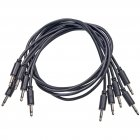 Black Market - Patchkabel 100cm 5er Pack (schwarz)
