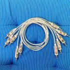 Producertools.net - LED Patchcables transparent 50cm (5pcs)