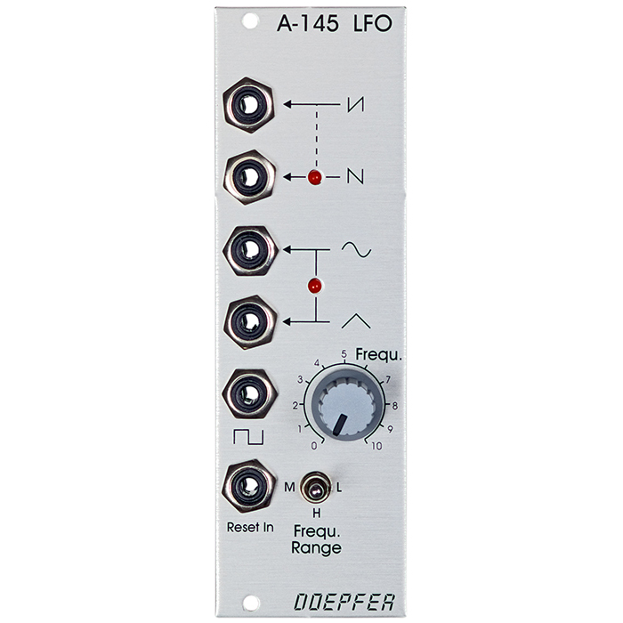 doepfer a 145 low frequency oscillator lfo a 145 70 00 raw voltage modular store vienna. Black Bedroom Furniture Sets. Home Design Ideas