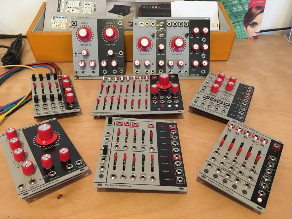 Wonderful verboselectronics modules back in stock modular synth westcoast style