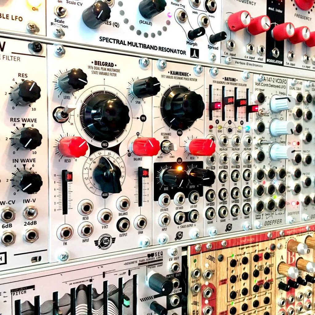 Happy to have xaocdevices on board! modular synth sound great