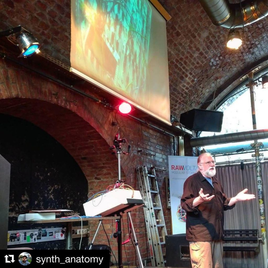 Repost synthanatomy getrepost  Synthesizer workshop with synthtodd westcoastsynthesis eastcostsynthesishellip